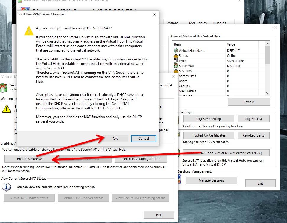 比较好的付费vpn_关于CentOS爬墙那点事,CentOS7 VPN-SoftEther VPN Server | MeanEVO!